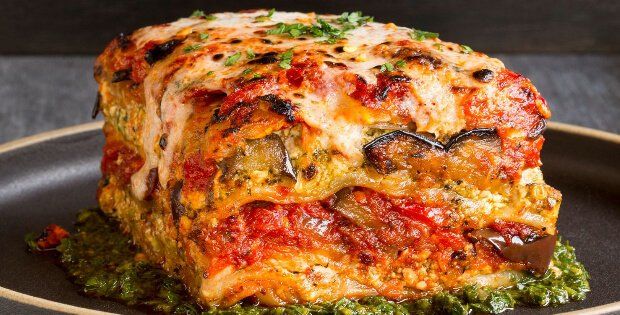 Roasted Vegetable Lasagna: Voluptous Vegan Lasagna