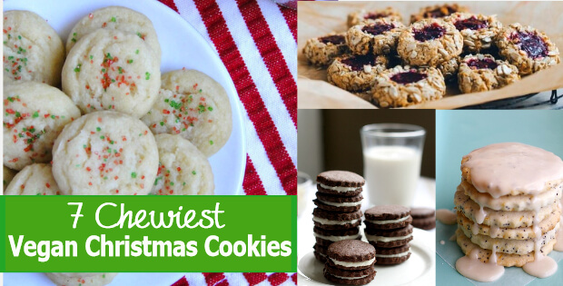 chewiest vegan christmas cookies