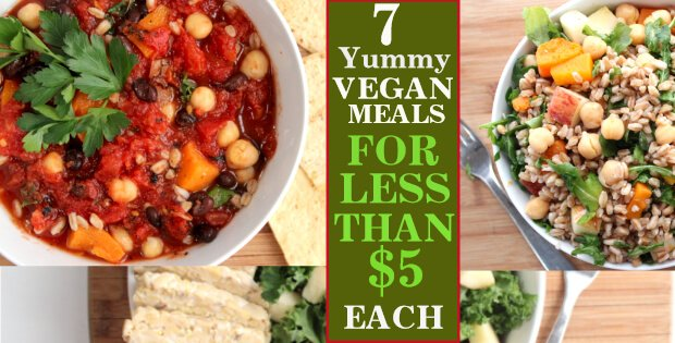 Vegan On A Budget 7 Yummy Meals For Under 5