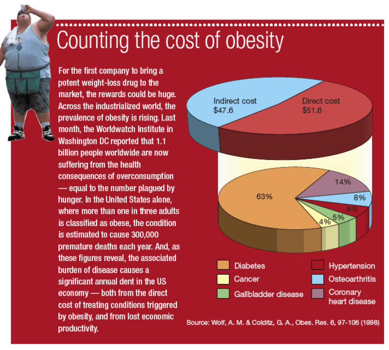 what is the cost of obesity essay In particular, weight and obesity treatments have increased the cost of healthcare in america, it is estimated that obesity is adding $190 billion annually to the price of healthcare.