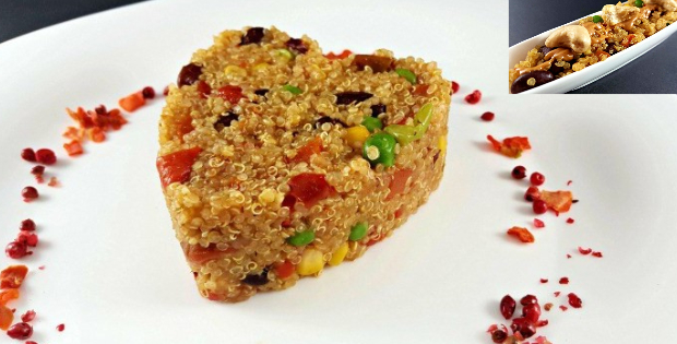A Splash Of Deliciousness In This 1-Minute Vegan Quinoa