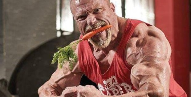 Is veganism the key to superhuman strength?