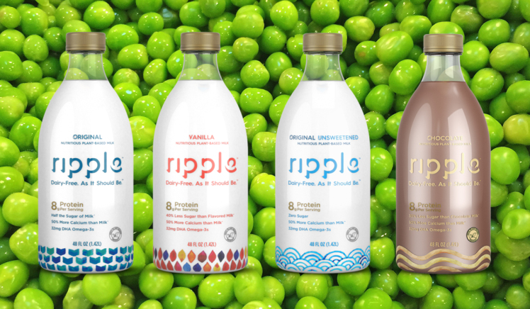 (Coming Soon!) New Pea Vegan Milk With True Potential To Wipe Out Dairy