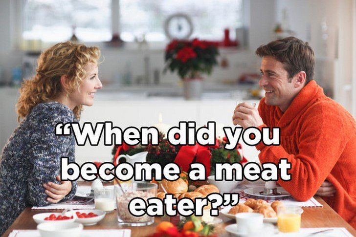 If A Vegan Talked To Meat Eaters The Way They Talk To Them! (Laugh Or Cry - Your Choice)