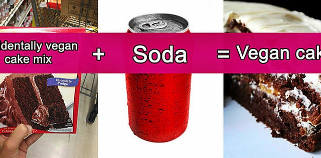Cake Mix Soda Hack