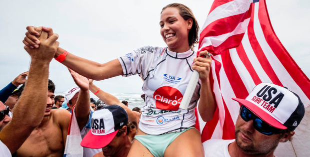 Vegan Wins Gold Medal at World Surfing Games