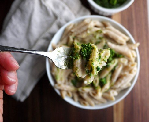 This Deliciously Fiberlicious White Bean Sauce Pasta Is Everything Your Tastebuds Need