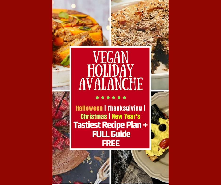 vegan holiday avalanche