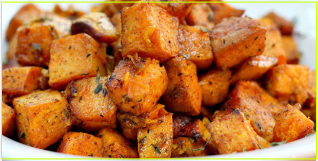 Succulently Irresistible Cinnamon Turmeric Sweet Potatoes (Vegan)