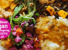 Full-Blown Vegan Menu + Shopping List + Exact Cooking Schedule For Thanksgiving HERE
