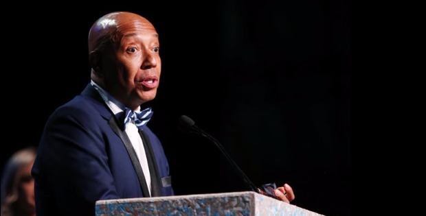 Watch What Vegan Activist Russel Simmons Had To Say To A Crowd Of Environmentalists!
