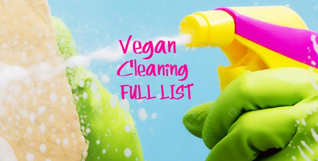 A FULL List Of Vegan Cleaning Products For A 100% Cruelty-Free Household