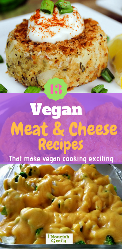 Delicious vegan meat and cheese recipes