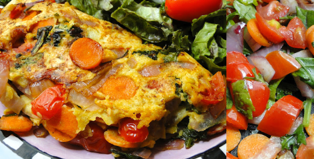 Unbelievable Soy-Free Vegan Omelette To Die For!