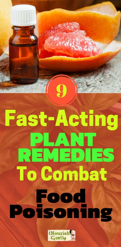 9 Plant Remedies To Combat Food Poisoning This Summer!