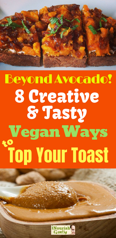 vegan toast toppings