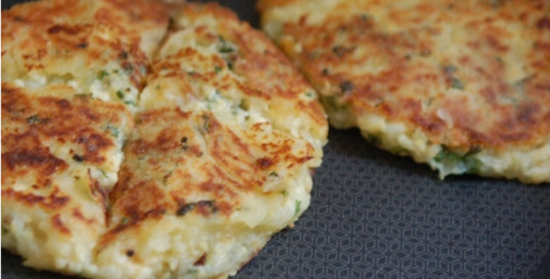 Delectable Smoked Tofu-Mashed Potato Cakes