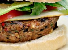 Healthiest Easiest Homemade Soyburgers! (Whole-Food Plant-Based)