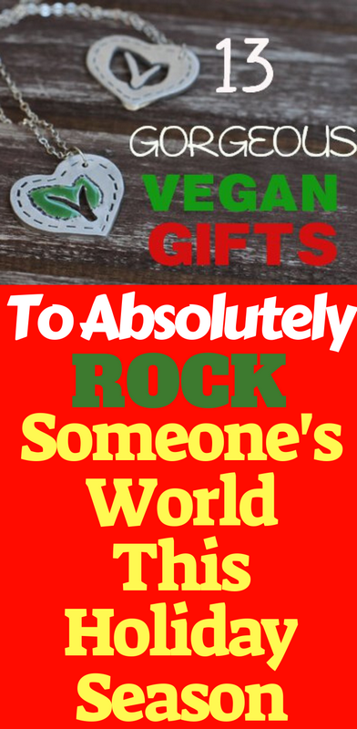 13 Gorgeous Vegan Christmas Gifts