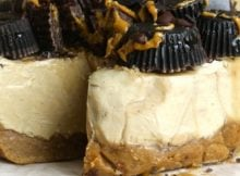 peanut butter cheesecake feature