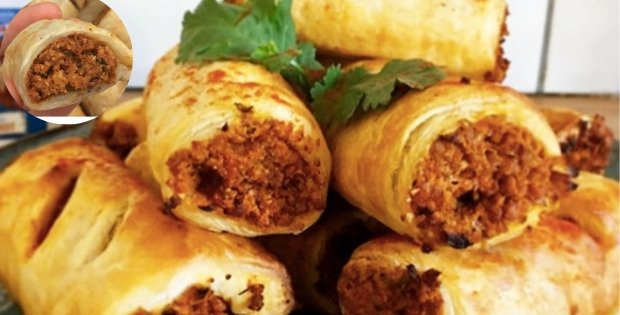 vegan sausage rolls recipe