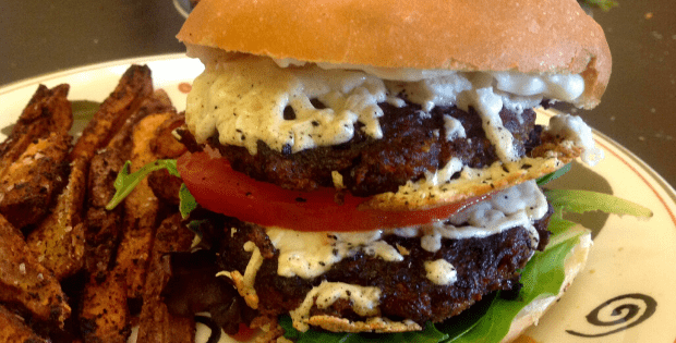 double trouble double cheesburger
