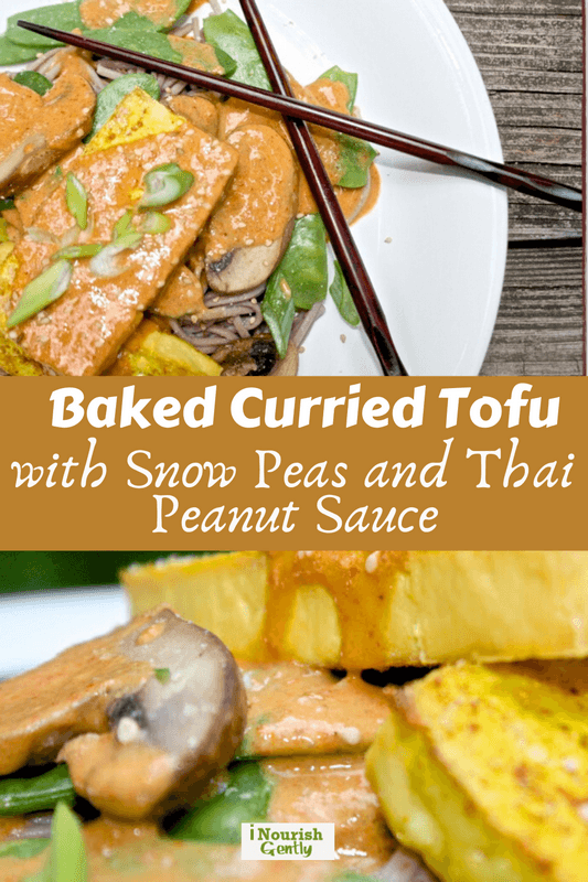 baked curried tofu