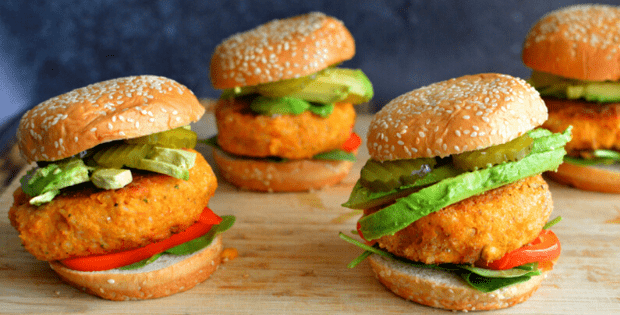 vegan crispy chicken sandwiches