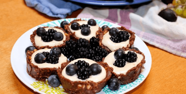 vegan cream tarts