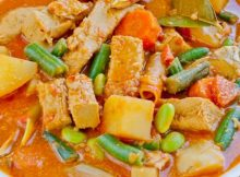 vegan indonesian curry